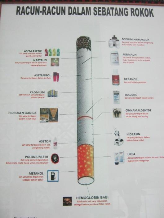 racun dalam rokok